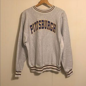 Vintage Reverse Weave University of Pittsburgh